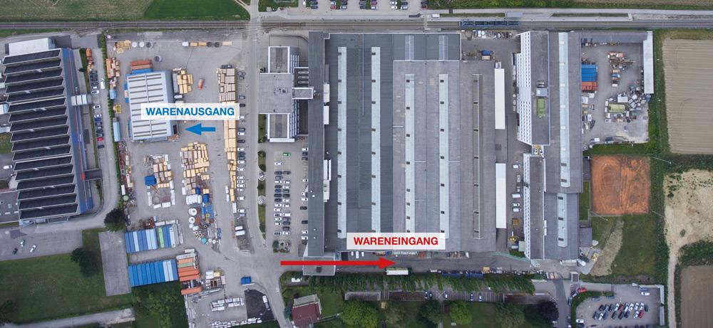 Warenanlieferung EBNER Leonding